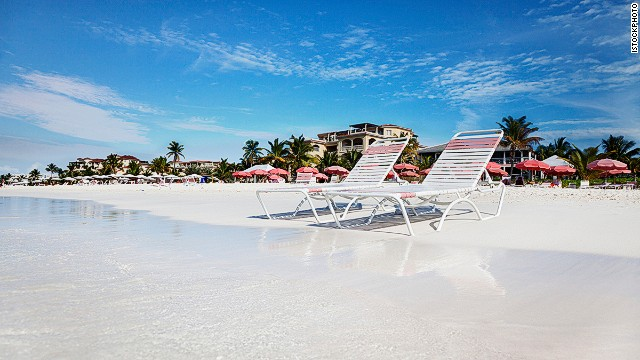 Grace Bay beach is number 3 in the world.