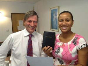 Acting Governor, Her Excellency Anya Williams