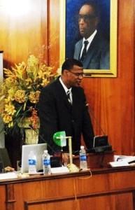 Premier Hon. Rufus Ewing