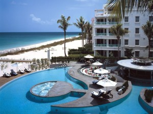 A section of the Caribbean's Leading beach destination and the Regent Village, winners of the Caribbean's Leading Spa.