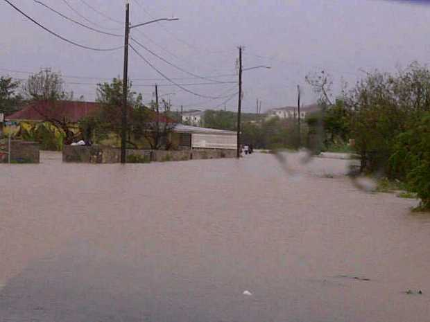 road-flooded