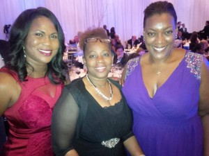 (L-R) Sonia Fulford Bien-Aime, P.S Cheryl-Ann Jones and Hon. Akierra Missick