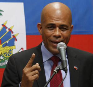 President Michel Martelly