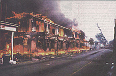 Straw Market Fire 2001-2