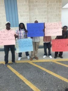 IGA protest