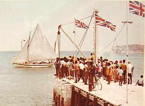South Caicos dock