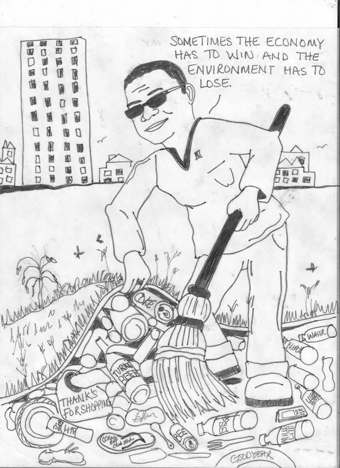 Cartoon by Benneth Williams