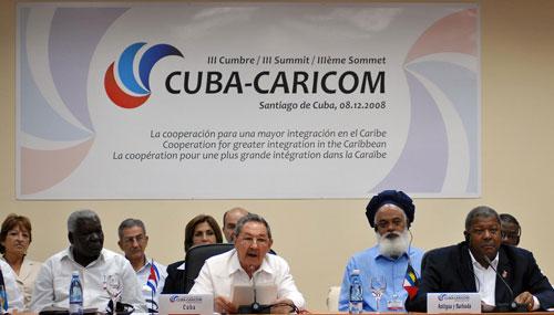 Raul and Caricom
