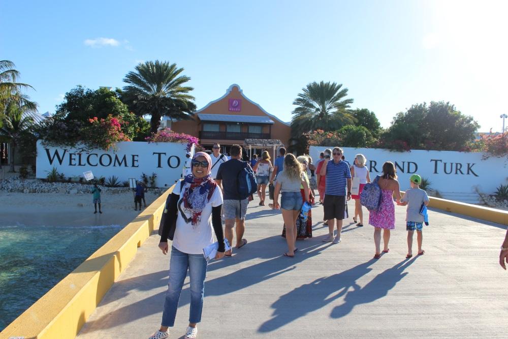 Grand turk tourists