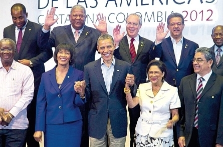 Obama with Caricom Leaders