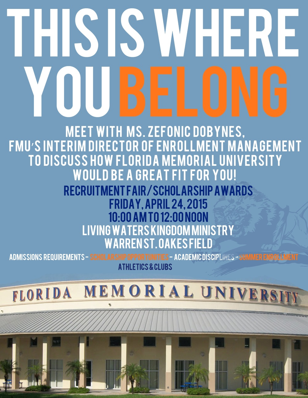 FMU - requitment fair