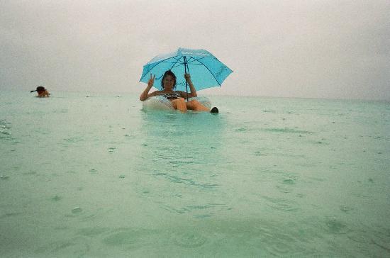 Rain in TCI