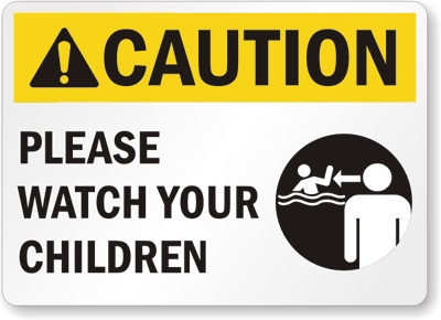 Caution-Watch-Your-Children-Sign-S-7805