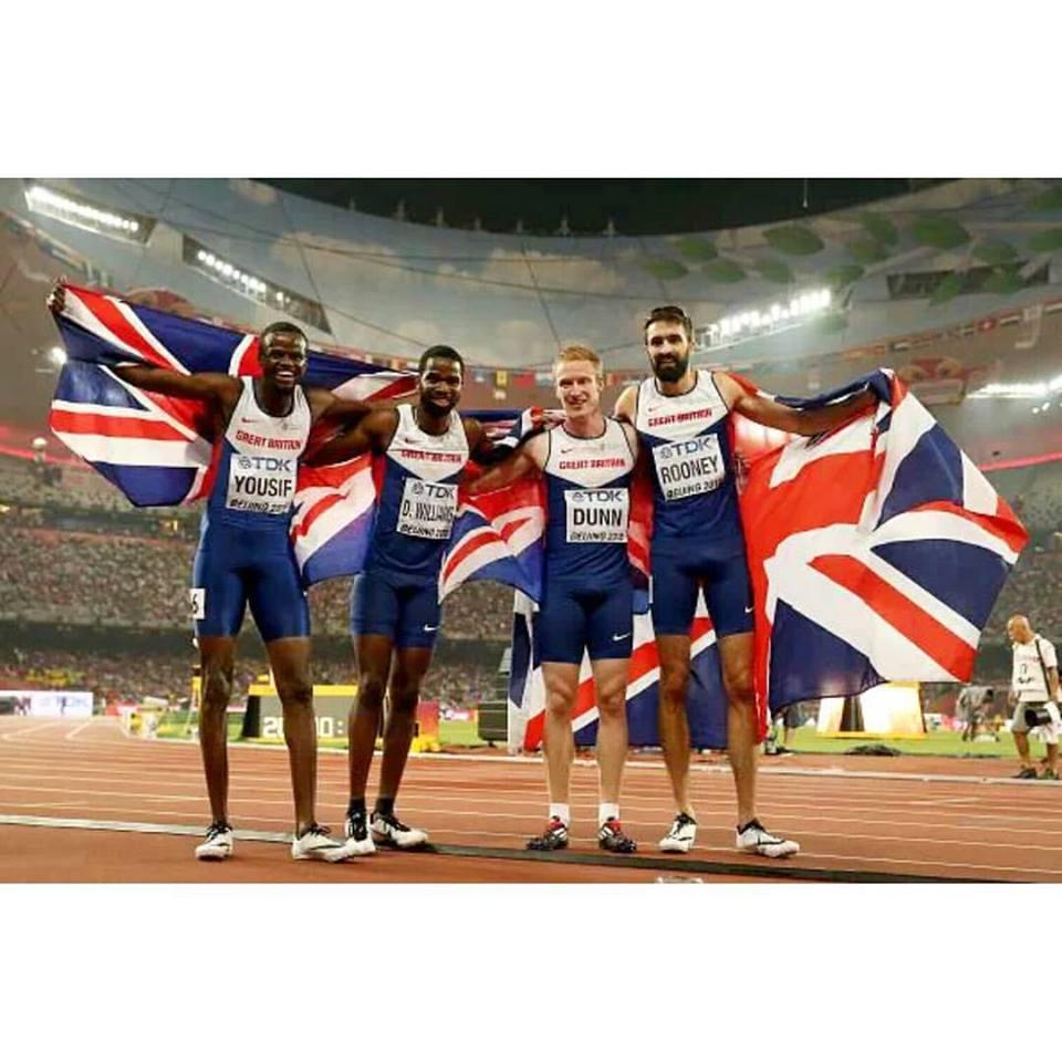 Delano Williams and Team GB