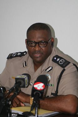 Acting Commissioner of Police Rodney Adams