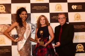 Karen with awards