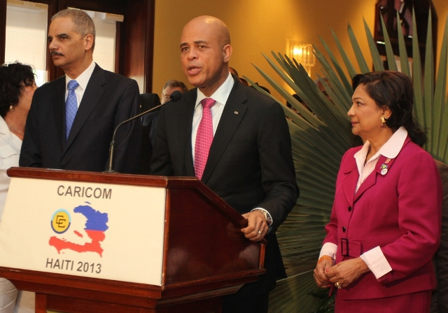 Holder at Caricom