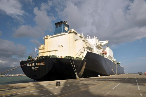 Jamaica Natural Gas Shipment