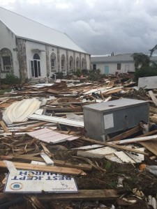 church-damaged