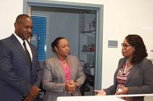 Premier & Health Minister Tour CHMS