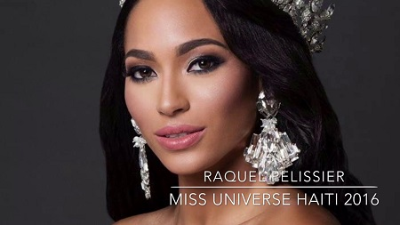 Raquel Pelissier Miss Haiti