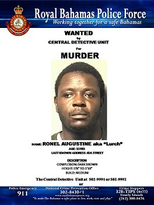 Wanted suspect Ronel Augustine (1)