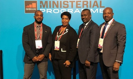 Minister of Home Affairs attends GSMA World Mobile Congress