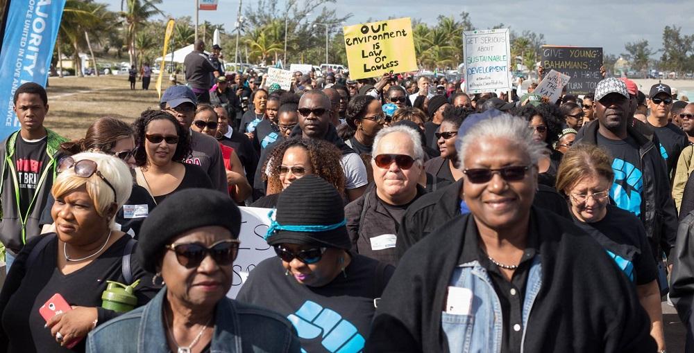 We March Bahamas 2