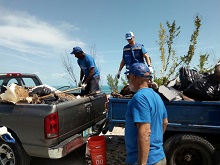 Trucking the trash