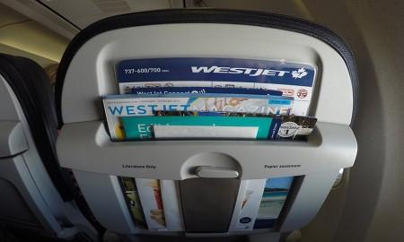 Westjet 737-700 YYC-SAN trip report