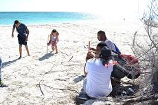 Field Studies 2017 on the beach