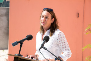 Director of Programs for Sandals Foundation, Heidi Clarke.
