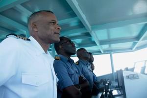 Crew on board HMBS