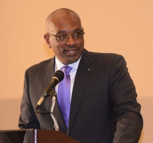 Prime Minister, Dr.Hubert Minnis addressing medical students at their graduation