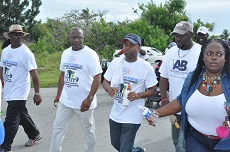 LEADERS WALKING WITH WORKERS