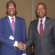 Minister Henfield and Haiti Foreign Minister Rodrigue