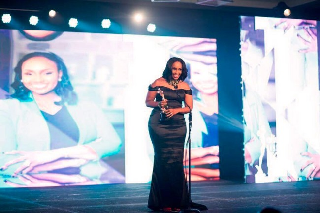 Keshelle_Kerr_Davis_at_the_Icon_Awards