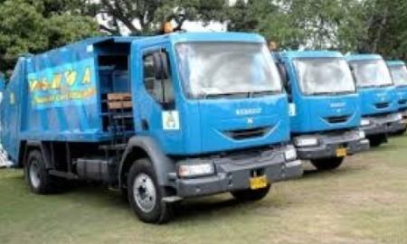 jamaican garbage trucks