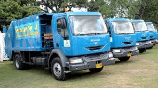 jamaican garbage trucks