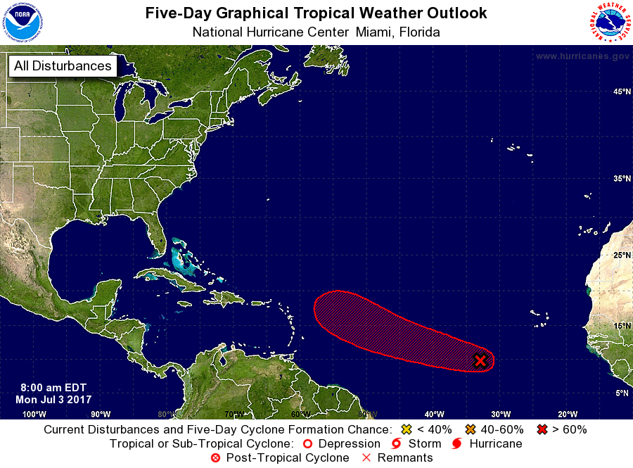 Developing storm in Atlantic could threaten US