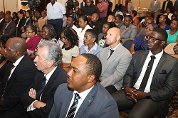Audience at Bahamas Striping Venture Capital Fund Launch