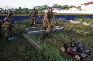 RBDF - Veteran Cemetery Cleanup (Sept. 16)4