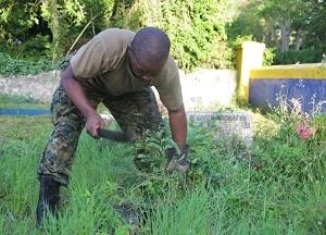 RBDF - Veteran Cemetery Cleanup (Sept. 16)6