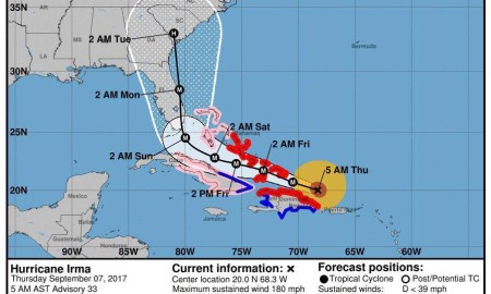 Sept 7 Irma at 5am