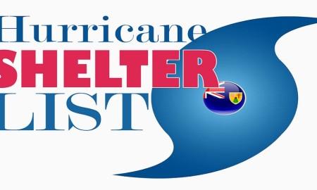hurricane shelter list TCI