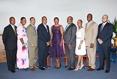 40TH ANNIVERSARY OF ZNS TELEVISION - EXECUTIVES