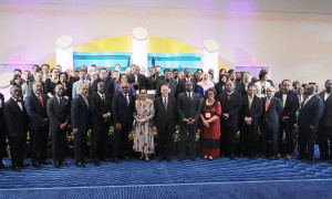Opening of the Commonwealth Law Ministers conference. Oct 16 2017. 159347(1)