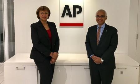 DG & Minister at AP