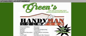 GREENS HANDYMAN INSERT FIX