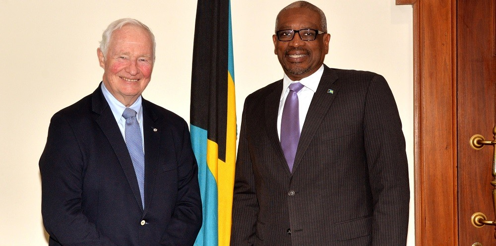 Former governor general of canada pays a courtesy call on - Prime minister office postal address ...